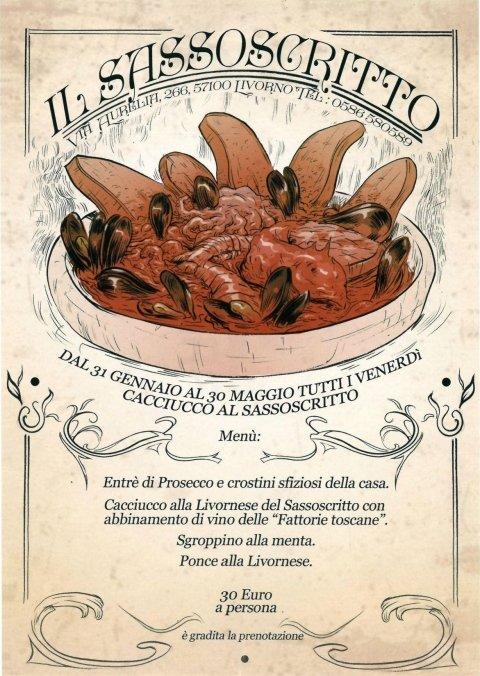 Il venerdi del Cacciucco presso Ristorante il Sassoscritto - Livorno