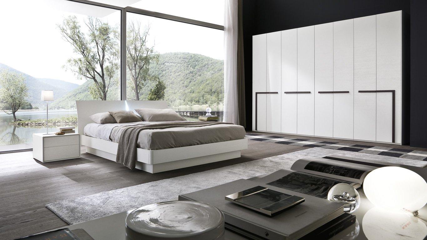 camera da letto con vista