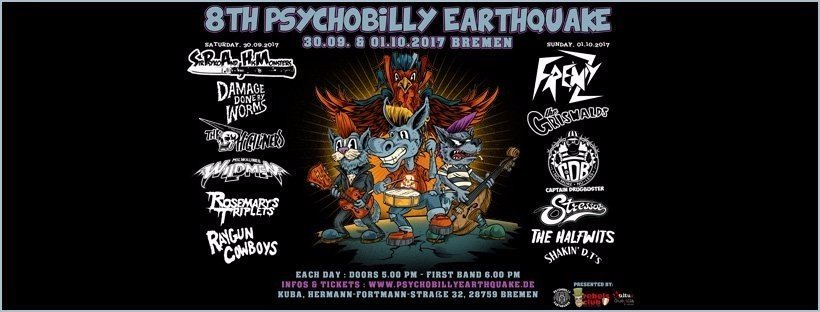 Psychobilly Earthquake