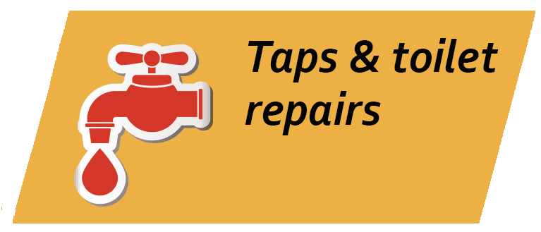 Taps and toilet repairs