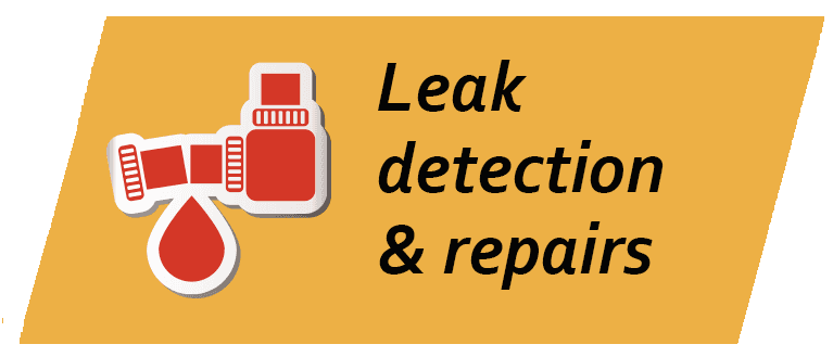 Leak detection & repairs