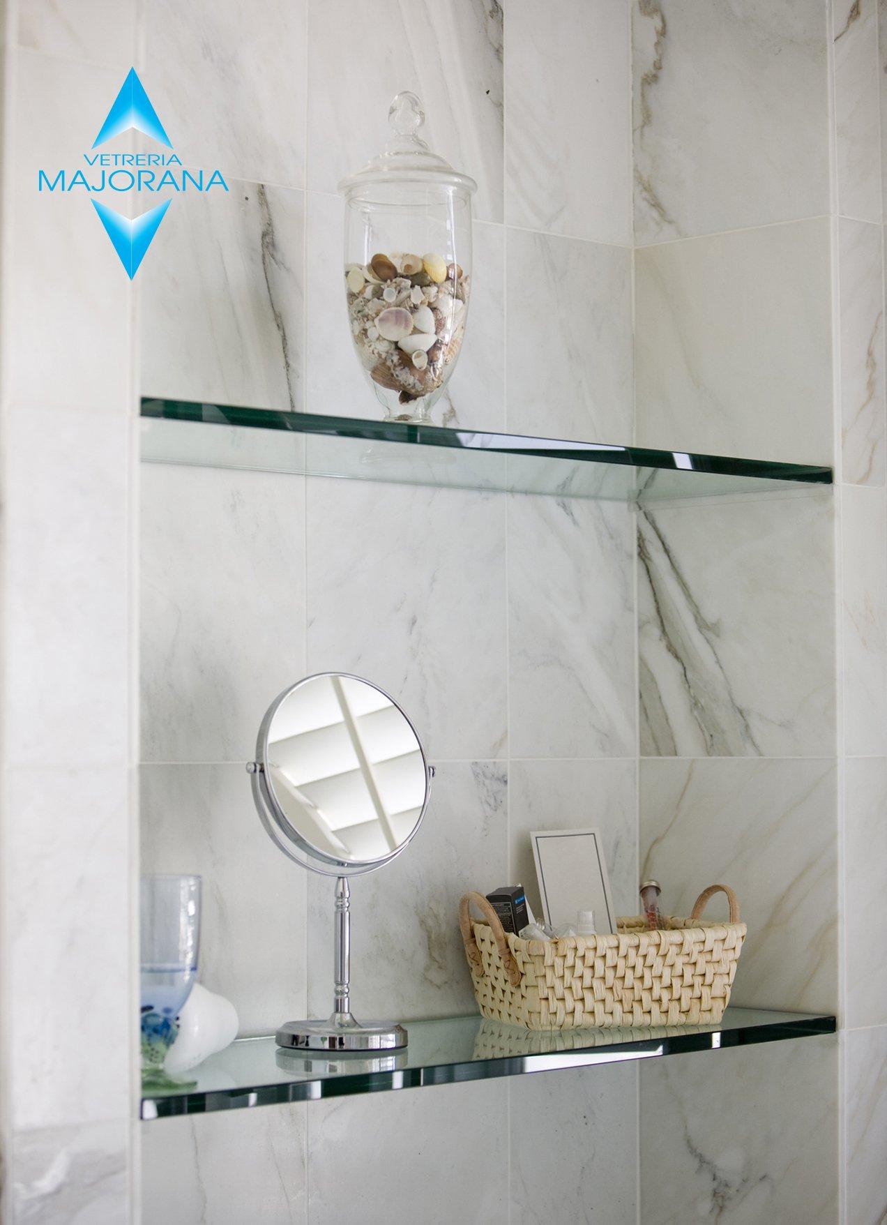 arredo bagno in vetro Roma