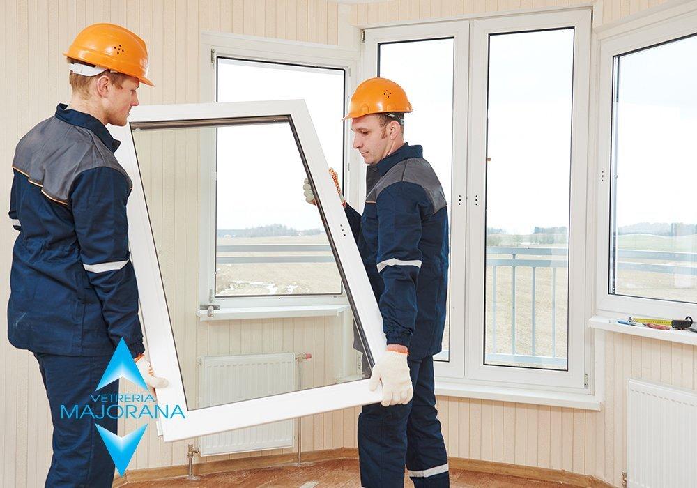 vetri per finestre Roma
