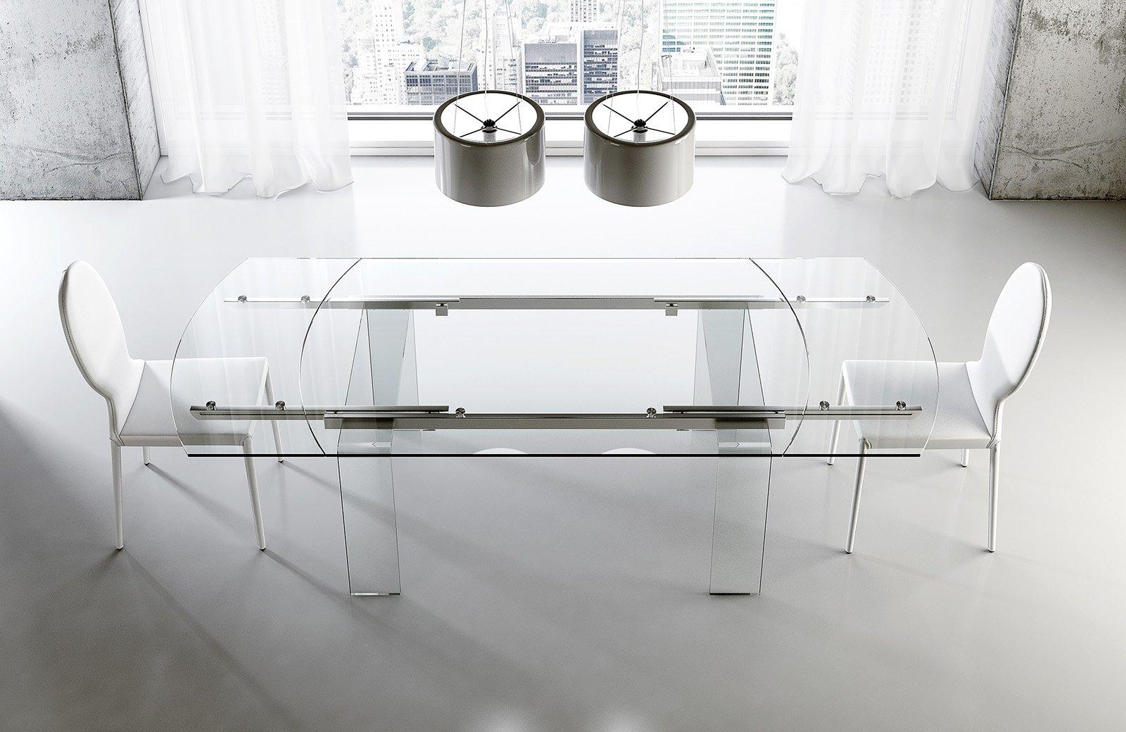 Tavoli in vetro Roma
