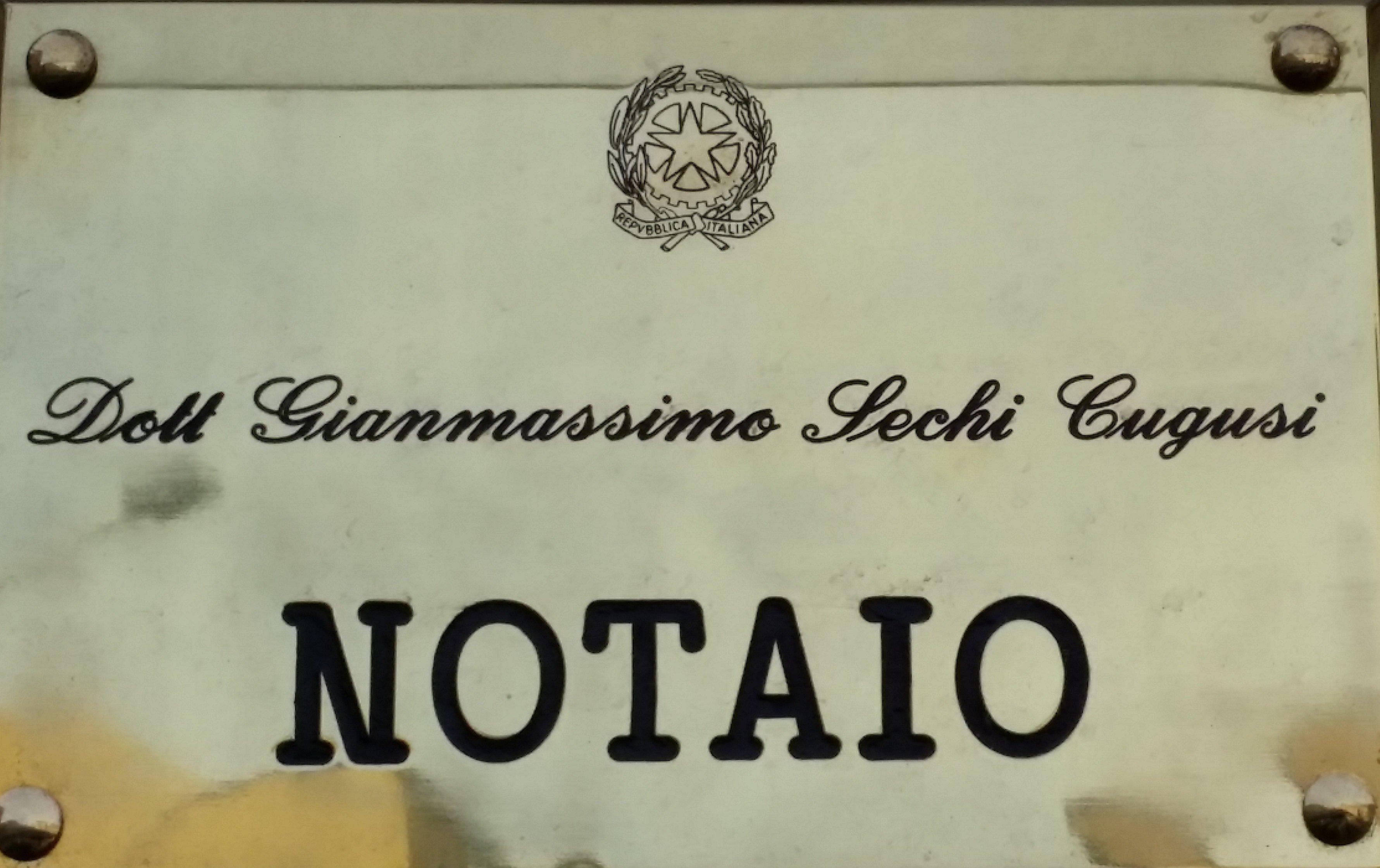 Notaio Sechi