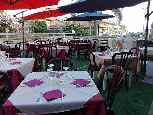 area esterna del ristorante