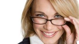 donna, occhiale, montatura