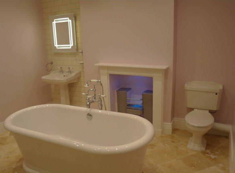Bathroom installation in Bristol with Bath
