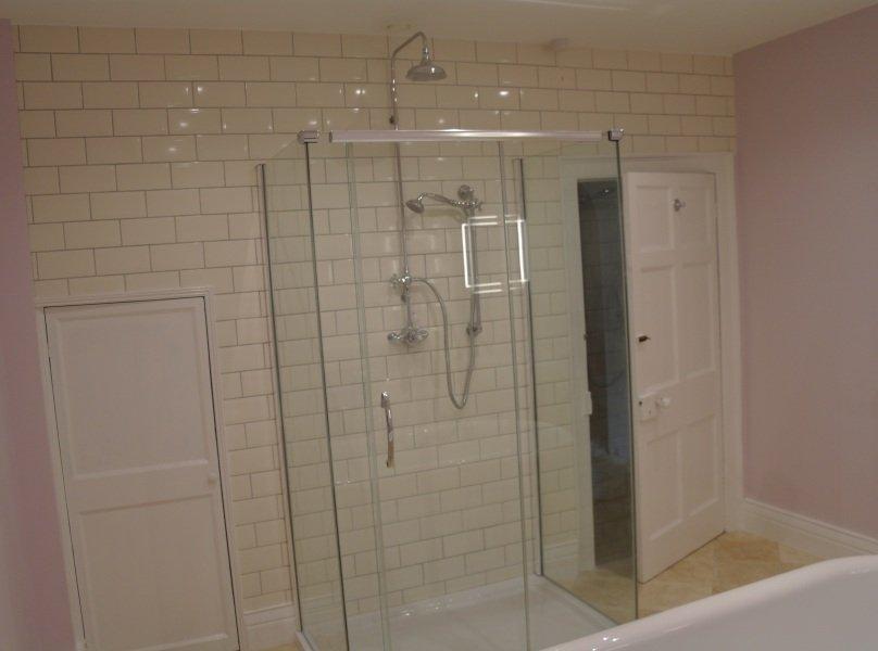 Bathroom Shower installation in Bristol