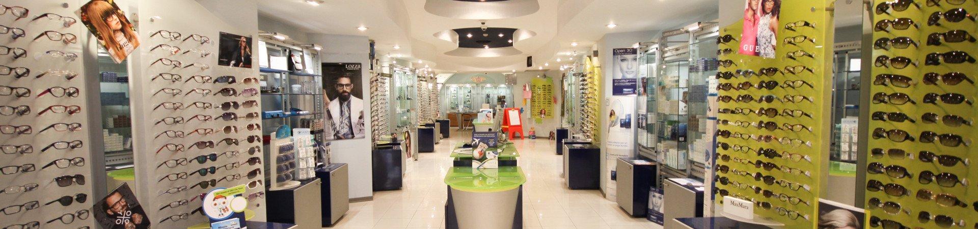 Inside the Ottica Brigida store