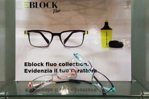 occhiali block