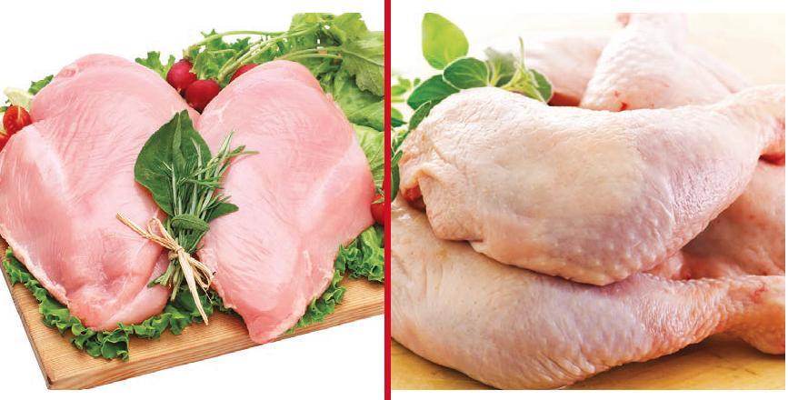 Pollo e tacchino cuneo