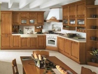 Cucina Diana in legno - Cartura