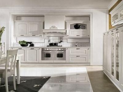 Cucina bianca modello Emma - Padova