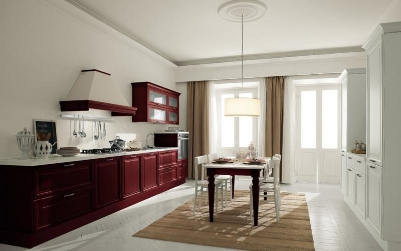 Cucina Lady rossa - Padova