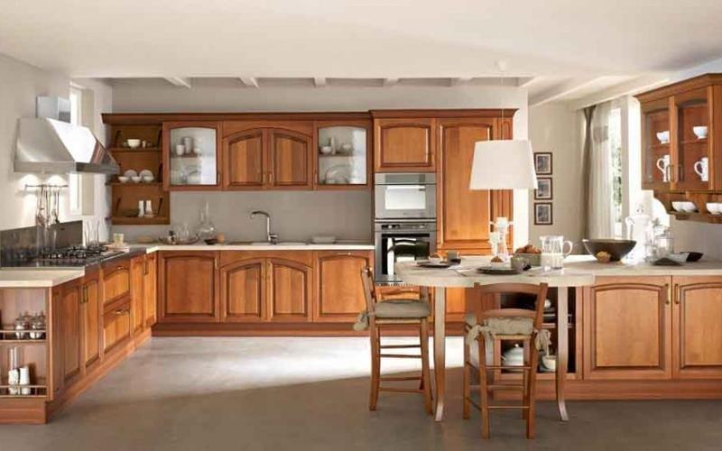 Cucina classica Midacharme legno - Arredamenti Nalin