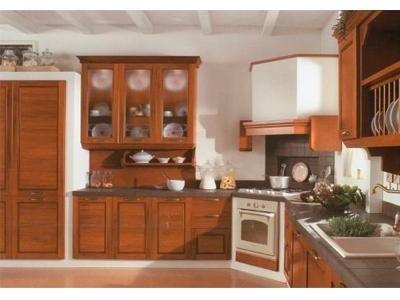Cucina Virginia color legno - Arredamenti Nalin- Cartura
