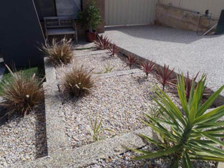 Finished project from our concrete contractors in Perth