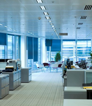 true brite cleaning office interior