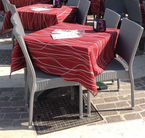 Tovagliato e porta menu a Beverino