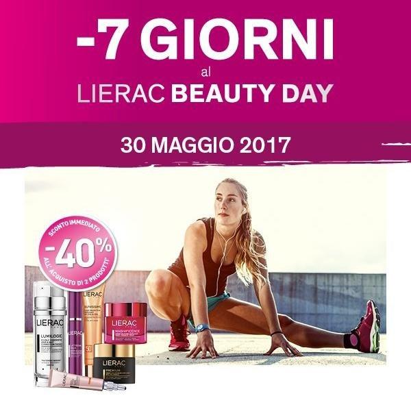 Lierac Beauty Day 30 maggio