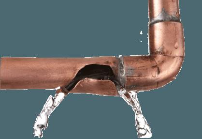 Broken pipe that needs burst pipe repair in Toowoomba