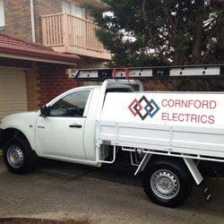 cornford electrics work ute