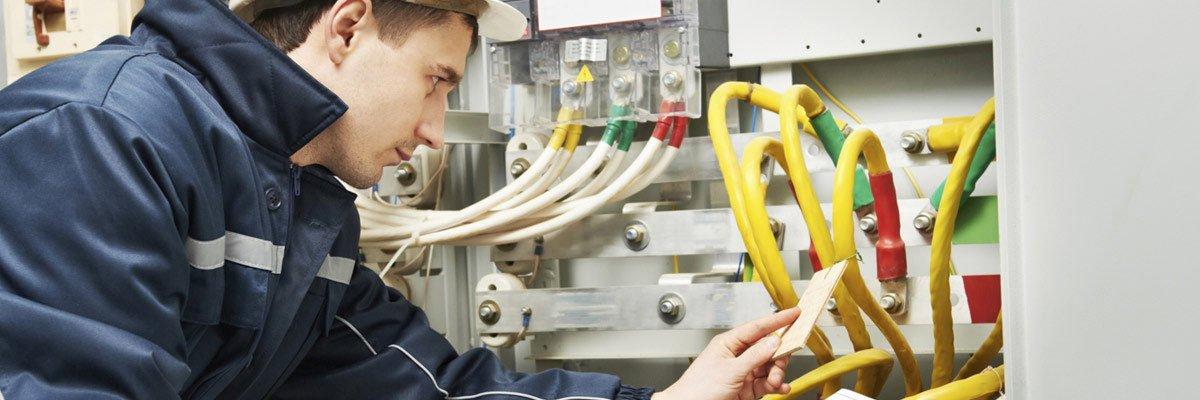 cornford electrics electrician at work hero