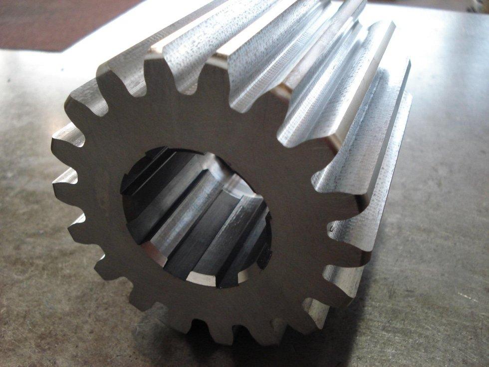 Produzione ingranaggi cilindrici dritti