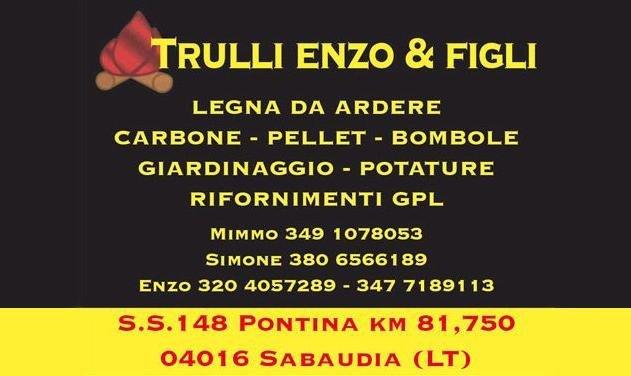 Trulli Enzo & Figli - Legna da ardere & Pellet