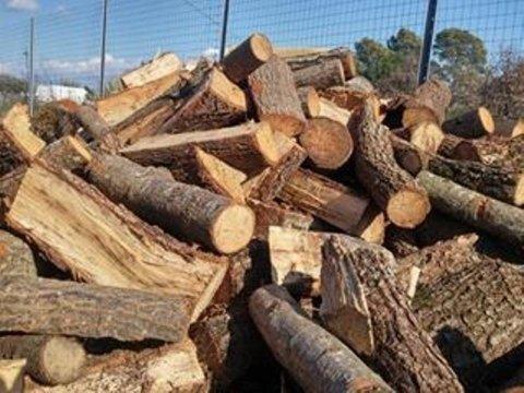 legna per camino