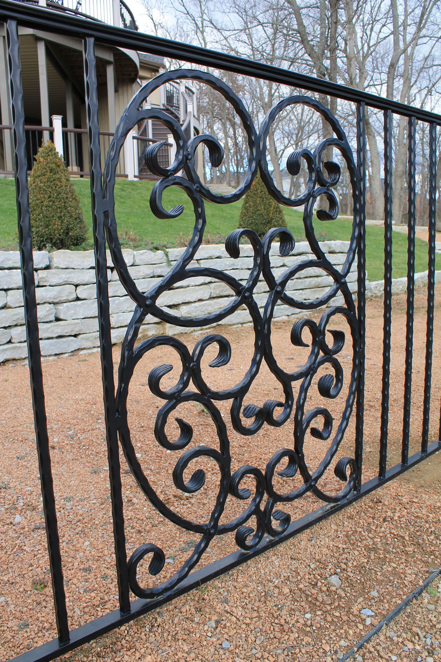 Ornamental railing panels - Perfect For Commercial Buildings Apartments Condominiums And Anywhere That An Attractive Strong Economical And Maintenance Free Solution Is Sought