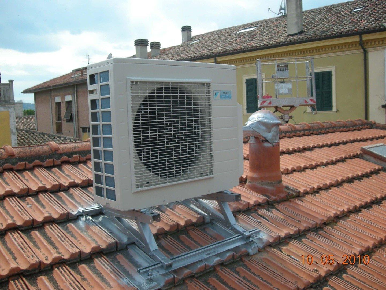 Impianto di condizionamento di Ciacci Impianti a Pesaro Urbino