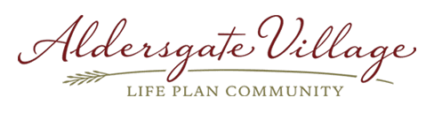 Aldersgate Village Life Plan Community Logo