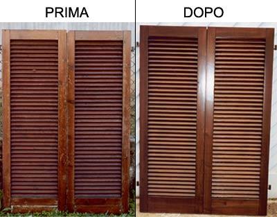 due finestre, prima e dopo