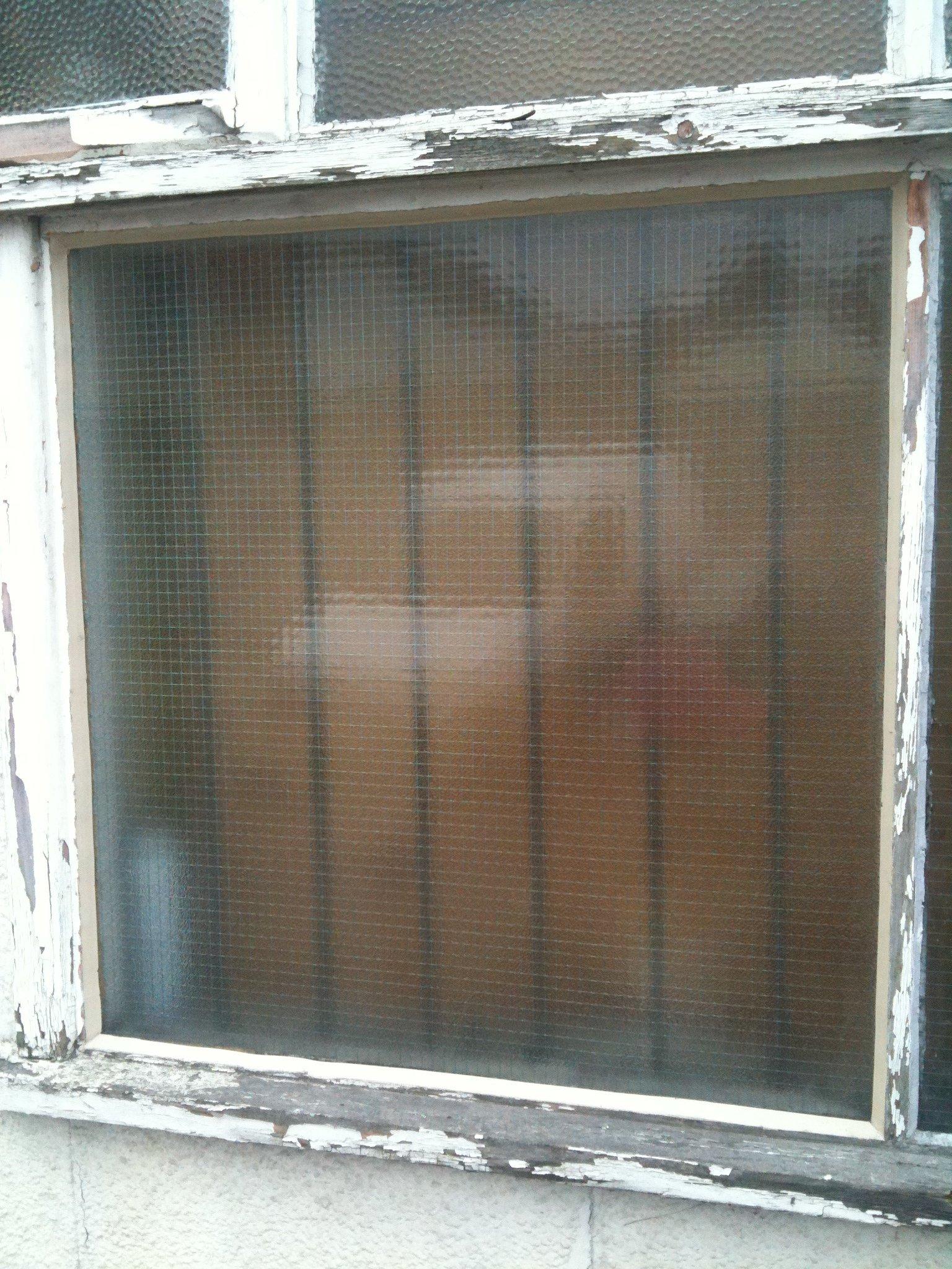 A window pane
