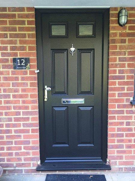 A uPVC front door