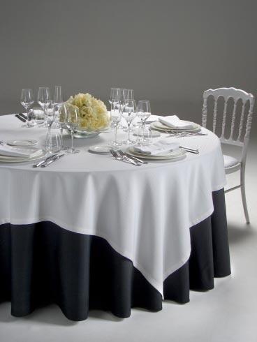 Cotone effetto lino bianco