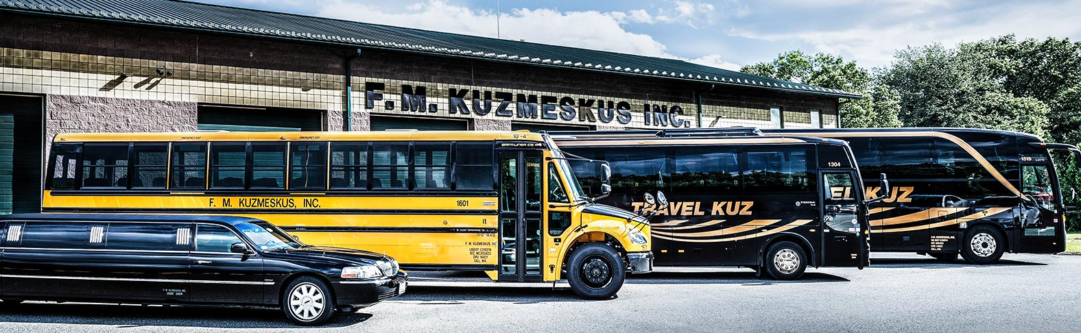 Travel Kuz Motor Coach, Limousine, and School Bus Charters