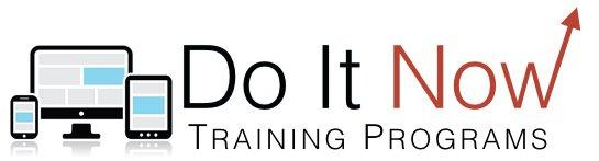 Do It Now Training Programs