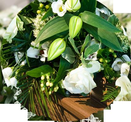 composizioni floreali, composizioni floreali per funerali, composizioni floreali funebri