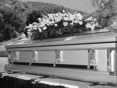 organizzazione cerimonia funebre, esequie, feretro