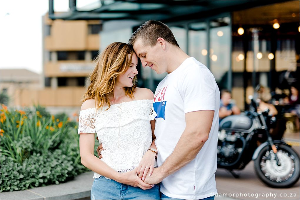 Engagement shoot at Industrial Coffee Works in Centurion by D'amor Photography 01