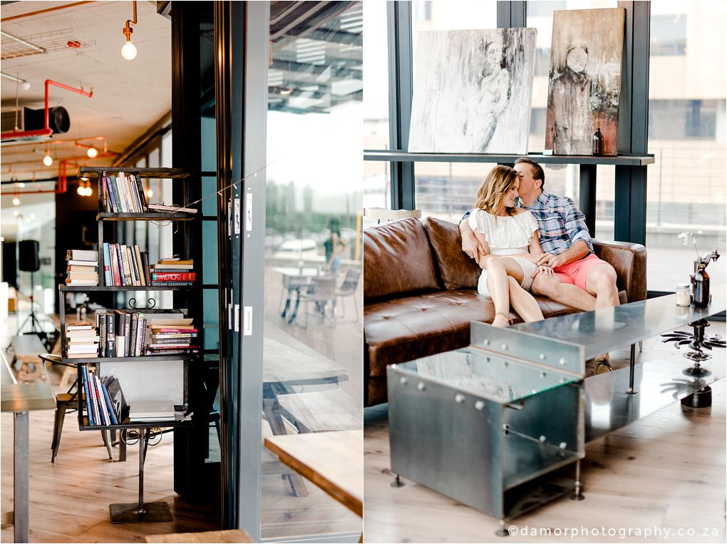 Engagement shoot at Industrial Coffee Works in Centurion by D'amor Photography 03
