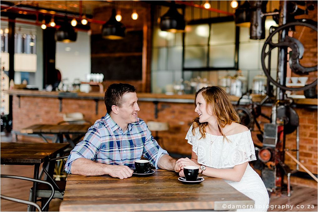 Engagement shoot at Industrial Coffee Works in Centurion by D'amor Photography 04