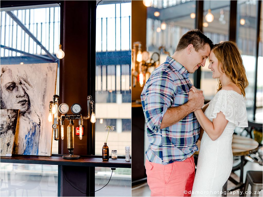 Engagement shoot at Industrial Coffee Works in Centurion by D'amor Photography 06