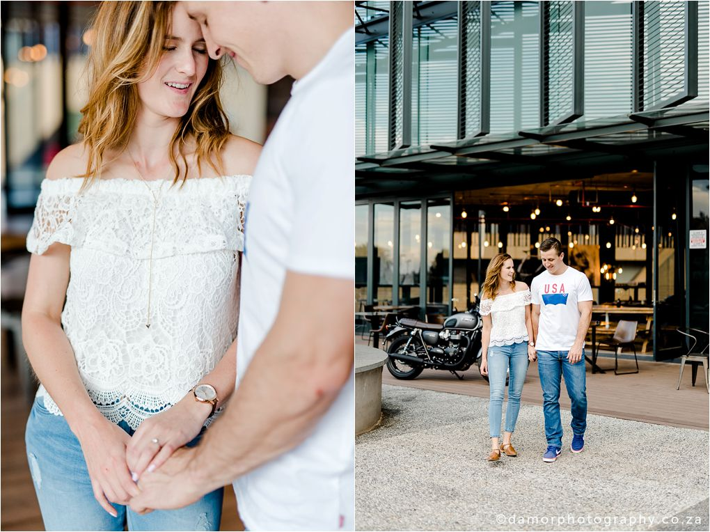 Engagement shoot at Industrial Coffee Works in Centurion by D'amor Photography 09