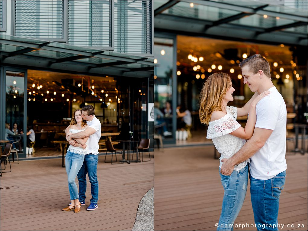 Engagement shoot at Industrial Coffee Works in Centurion by D'amor Photography 12