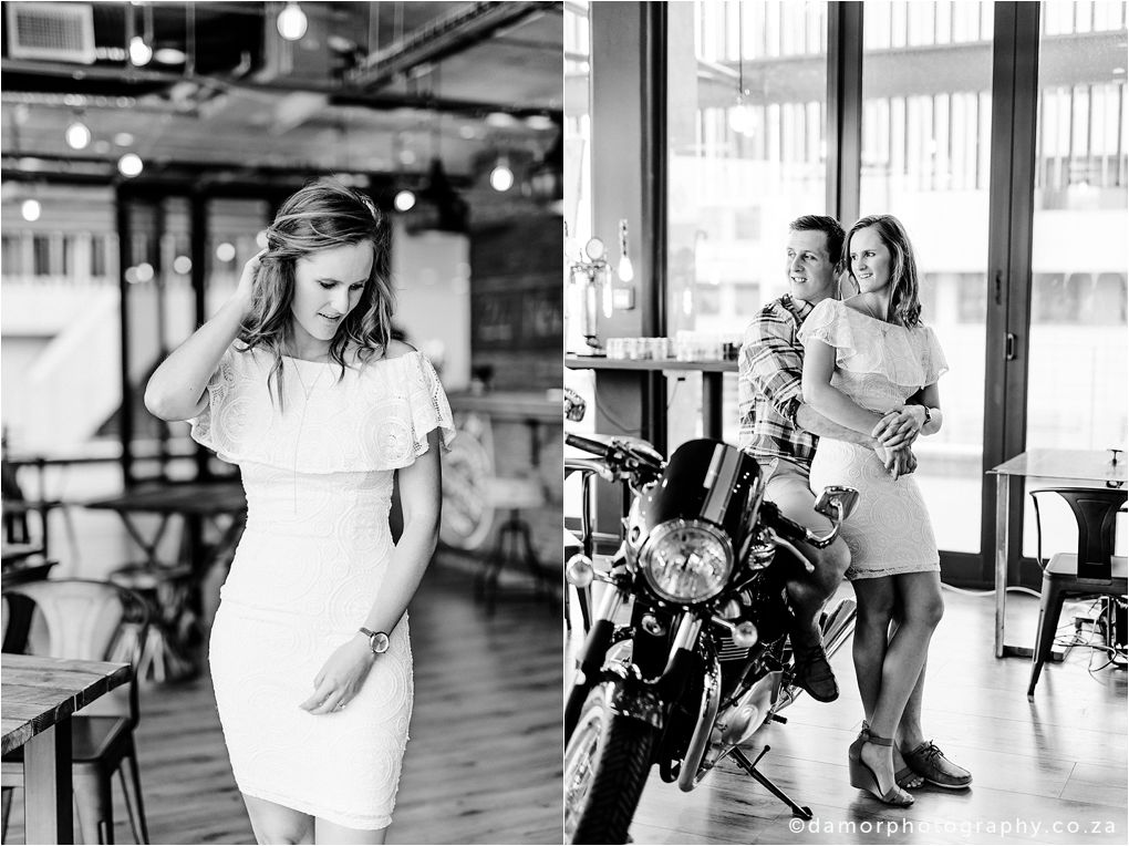 Engagement shoot at Industrial Coffee Works in Centurion by D'amor Photography 13