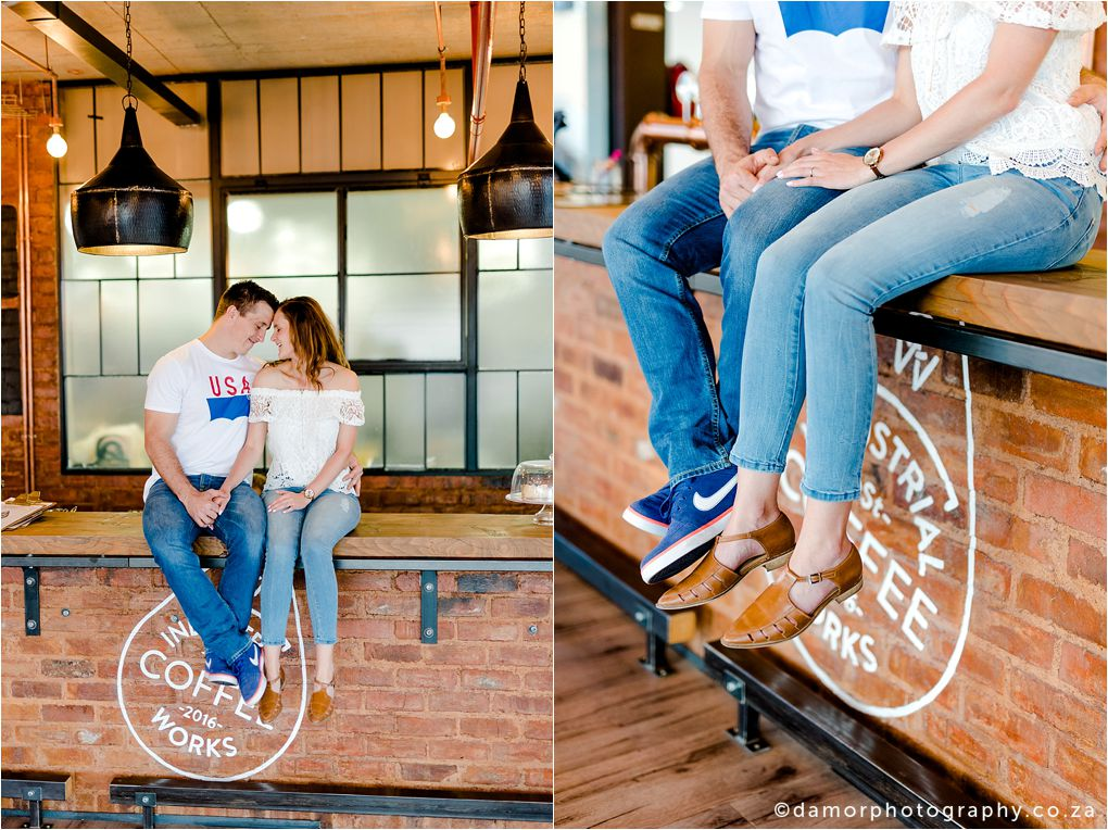 Engagement shoot at Industrial Coffee Works in Centurion by D'amor Photography 14